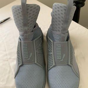Puma fenty sneakers grey gray 6.5. 37